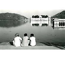 Lake near Jaipur, India Photographic Print