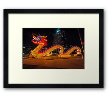Chinese New Year Dragon Framed Print