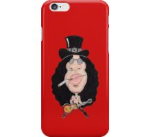 Classic Rock 80's 90's Funny Caricature iPhone Case/Skin