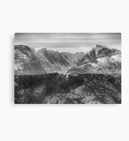 Continental Divide Rocky Mountains National Park Canvas Print