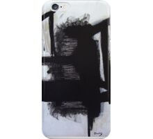 Busy Bees - New Black White Abstract Stylish Fine Art iPhone Case/Skin