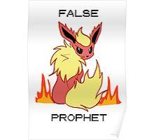 FALSE PROPHET - Twitch Plays Pokemon Poster