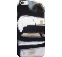 Inside the Room - New Black White Abstract Stylish Fine Art iPhone Case/Skin