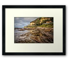 Seacliff Road Framed Print