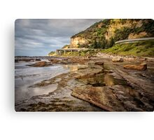 Seacliff Road Canvas Print