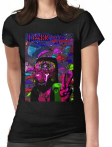 Psychedelic Jesus Reincarnate Womens Fitted T-Shirt