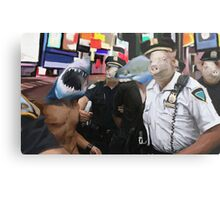 cops and robbers  Metal Print
