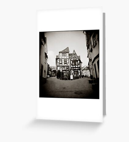 { fairy tale houses } Greeting Card