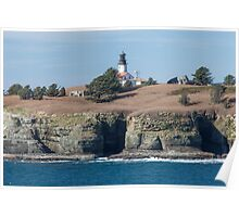 Cape Flattery Light and Tatoosh Island Poster