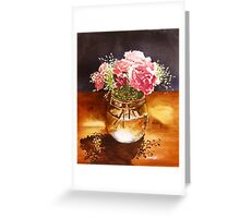Just What the Table Needed Greeting Card