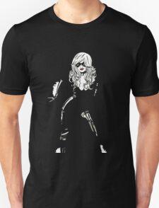 Black Cat Black Night Unisex T-Shirt