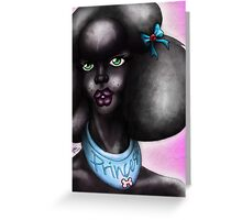 Creature Feature: Princess Poodle Greeting Card