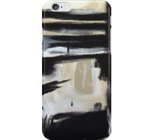 The Boxed Furnace- New Black White Abstract Stylish Fine Art iPhone Case/Skin