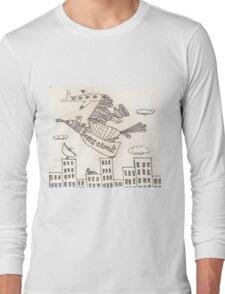 Super Cluck Long Sleeve T-Shirt