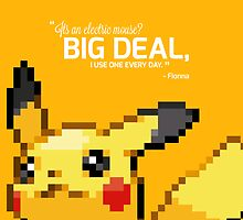 #025 - Pikachu - Limited Edition w/ Quote by Nijikokun