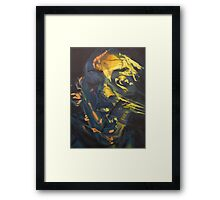 The Overwhelming Reality Framed Print