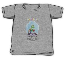 Patches turtle reading Kids Tee