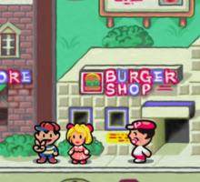 Earthbound Town Sticker