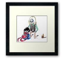 Simon and Marcy Playtime!......! Framed Print
