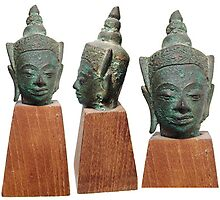 Ancient Asian Buddha Statues and Figures by ancientresource