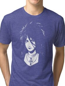 Sandman DEATH  Vintage Neil Gaiman Tribute  Tri-blend T-Shirt