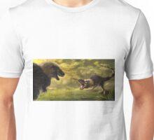 Tyrannosaurus Rex Standoff Unisex T-Shirt