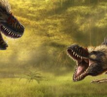 Tyrannosaurus Rex Standoff Sticker