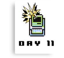 Day 11: Twitch Plays Pokemon Canvas Print