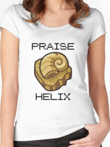 ༼ つ ◕_◕ ༽つ PRAISE HELIX ༼ つ ◕_◕ ༽つ Women's Fitted Scoop T-Shirt