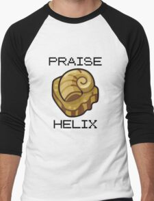 ༼ つ ◕_◕ ༽つ PRAISE HELIX ༼ つ ◕_◕ ༽つ Men's Baseball ¾ T-Shirt