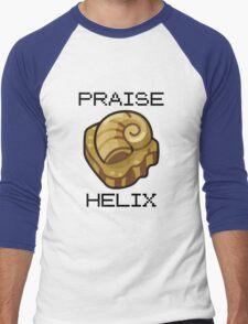 ༼ つ ◕_◕ ༽つ PRAISE HELIX ༼ つ ◕_◕ ༽つ Men's Baseball ¾ T-Shirt