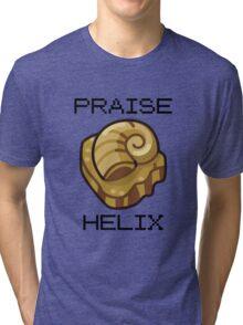 ༼ つ ◕_◕ ༽つ PRAISE HELIX ༼ つ ◕_◕ ༽つ Tri-blend T-Shirt