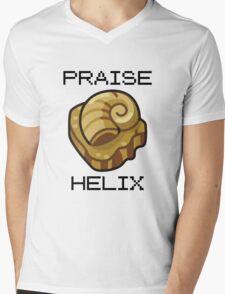 ༼ つ ◕_◕ ༽つ PRAISE HELIX ༼ つ ◕_◕ ༽つ Mens V-Neck T-Shirt