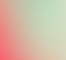 SOUR / Plain Soft Mood Color Blends / iPhone Case by burning