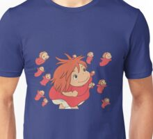 Ponyo, escape Unisex T-Shirt