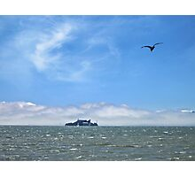 Alcatraz in the Afternoon Photographic Print