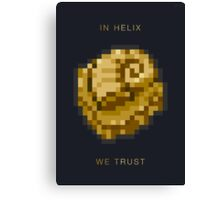 In Helix We Trust - Limited Edition Canvas Print