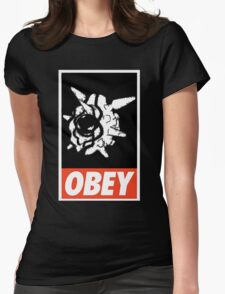 OBEY Cloyster Womens Fitted T-Shirt