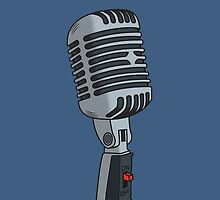 Old School Microphone by Eric Hollaway
