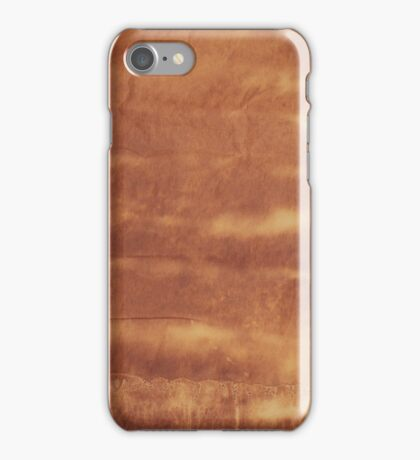 Old paper texture iPhone Case/Skin