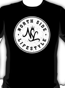 NSL White Diamond Crest T-Shirt