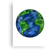 Colorful Earth Canvas Print