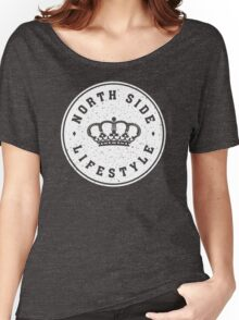 NSL White Royal Crown Women's Relaxed Fit T-Shirt