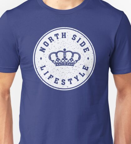 NSL White Royal Crown Unisex T-Shirt