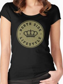 NSL Gold Royal Crown Women's Fitted Scoop T-Shirt