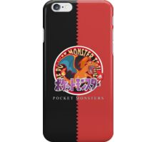 Pocket Monsters Red iPhone Case/Skin