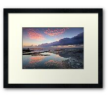 Speckled Dawn Framed Print