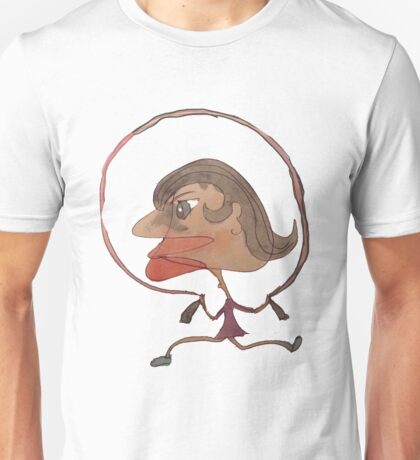 Silly Milly Jumps Rope With Her Big Fat Head Unisex T-Shirt