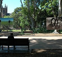 """He Looks Lonely"", Art & About, Sydney 2006 by muz2142"