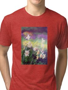 Majestic Daffodils Tri-blend T-Shirt